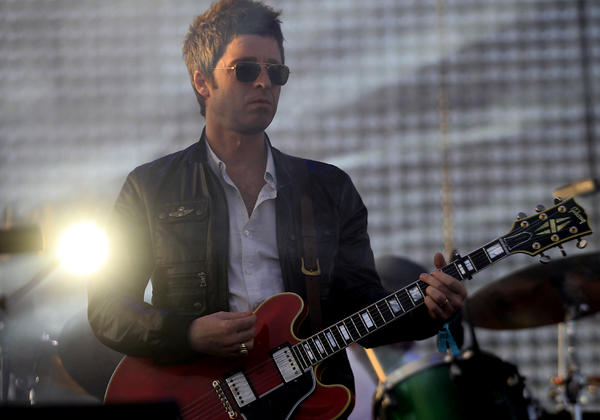Noel Gallagher says he has his sales pitch ready to get through the pearly gates.