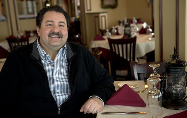 Chris Valianatos owns La Tosca in Bethlehem Township.