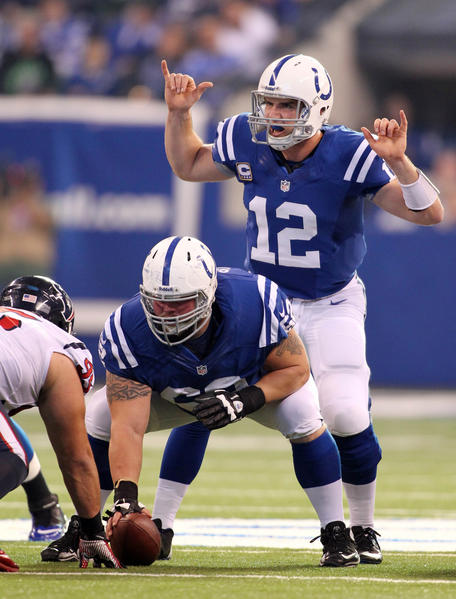 Can quarterback Andrew Luck and the Indianapolis Colts upset Baltimore this season?