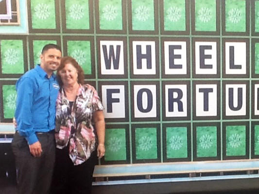 Raymond Weber on 'Wheel of Fortune'