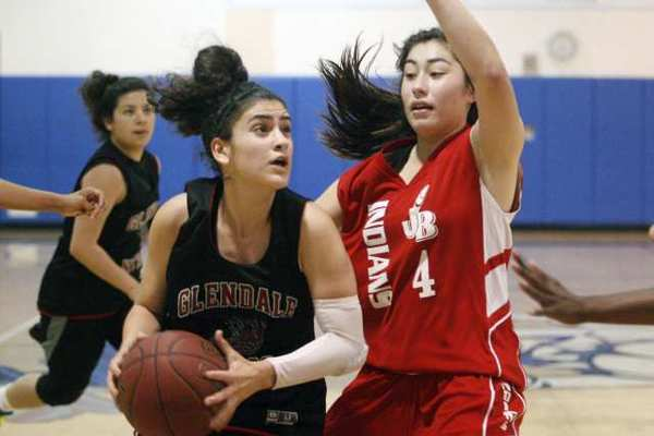 ARCHIVE PHOTO: Guard Kristineh Zadourian is one of eight returning seniors for the Glendale Nitros.