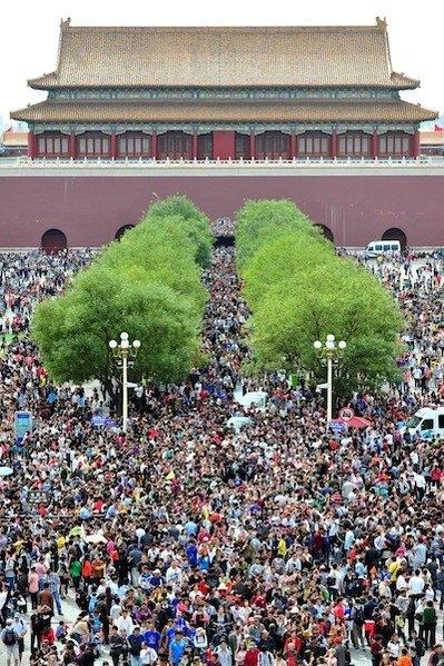 Millions flocked to Beijing's Forbidden City last October. A Beijing exhibit and tourism event opens Friday at Universal Studios.