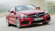 Mercedes releases details on new E-Class coupe and convertible