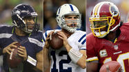 What once was reason for panic –— a rookie quarterback starting an NFL playoff game — is suddenly a problem for opposing defenses.