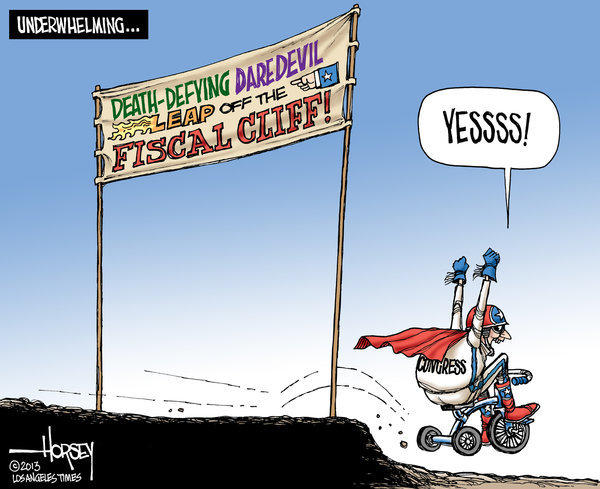 'Fiscal cliff' deal is a very minor achievement for Congress