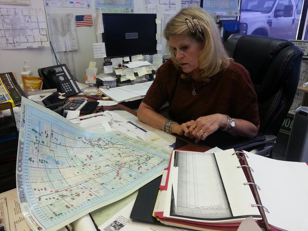 Brown County highway superintendent Jan Weismantel manages the county's roads as they age and maintenance costs rise.