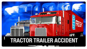 Tractor trailer wreck highlights dangers of black ice
