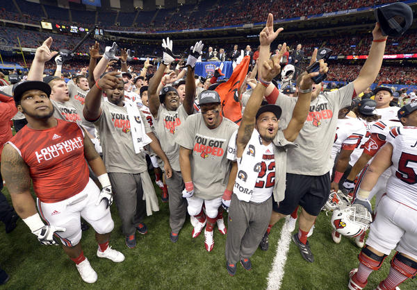 "<i>Trending on: National Twitter, Google Plus, Google Trends, Baltimore Twitter</i><BR> Why: During Wednesday night's Sugar Bowl against quarterback Teddy Bridgewater and the Louisville Cardinals, the No. 3 Gators found themselves in a hole too deep to escape.It would get only deeper and deeper during a 33-23 loss to Louisville. The Cardinals were a 14-point underdog who scored touchdowns during the first 15 seconds of each half. [<a href=""http://www.baltimoresun.com/sports/college/football/os-florida-gators-louisville-sugar-bowl-0103-20130102,0,5922761.story"" target=""_blank"">The Baltimore Sun</a>]<BR>"
