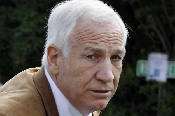 Jerry Sandusky during his trial last year.