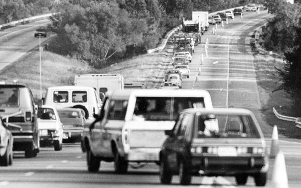 Oct. 28, 1982   Eastbound lane between Route 143 and Fort Eustis Blvd. on I-64