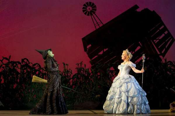 "The musical ""Wicked"" broke box-office records on Broadway during the recent holiday week. It comes back to Costa Mesa in February."