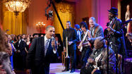 President Obama Sings with B.B. King