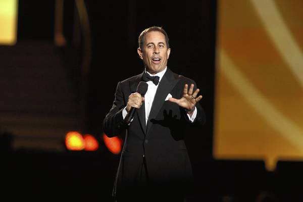 "Jerry Seinfeld's self-titled ""show about nothing"" made sticom history."