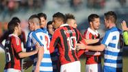 Watch AC Milan walk off field in protest of racist chants