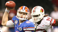 Pictures:  Florida Gators vs. Louisville Cardinals in Sugar Bowl
