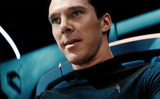 """A shot from """"Star Trek Into Darkness,"""" a film due to be released in May."""