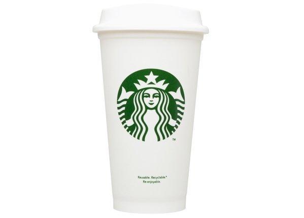 Starbucks sells $1 reusable plastic cups
