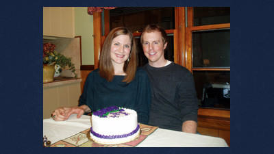 Jennifer Grace and Nicholas Anderson