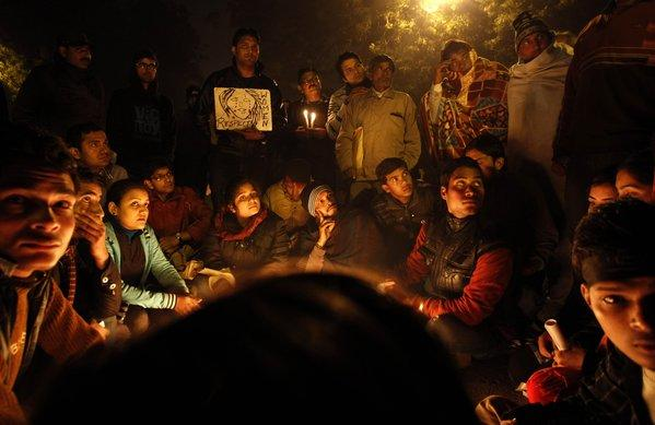 Vigil for Indian gang-rape victim