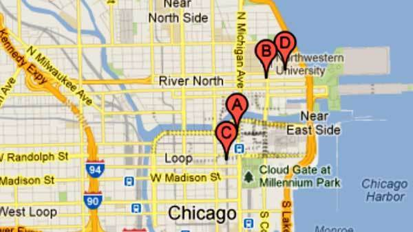 Cell phone robberies in Loop and Near North Side