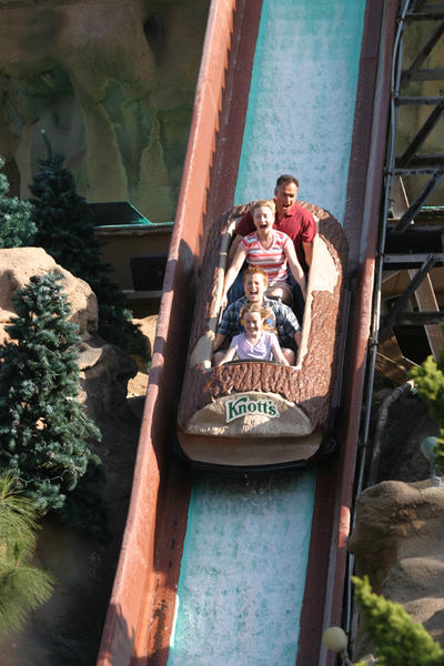 Timber Mountain Log Ride at Knott's Berry Farm will undergo a five-month renovation.