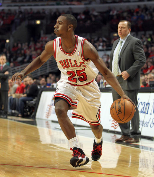 Bulls rookie Marquis Teague is showing more confidence as his playing time increases.