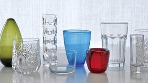 Beautiful glassware adds sparkle to home decor