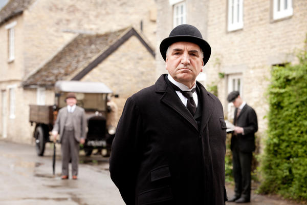 <b>Played by:</b> Jim Carter (pictured) and Phyllis Logan <br><br> <b>Where we left off:</b> Carson, the butler, had to deal with a small staff because of the war and the Spanish flu. Head housekeeper Hughes spent much of Season 2 helping former servant Ethel, who became impregnated by an officer staying at Downton. <br><br> <b>What to expect:</b> Carson not only has to deal with training some new staff members but has a major standoff with Thomas. Meanwhile, Hughes still looks after Ethel and has an incredibly dramatic moment of her own that she tries to keep secret.
