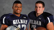 Gilman football's Henry Poggi, Micah Kiser set for national all-star games