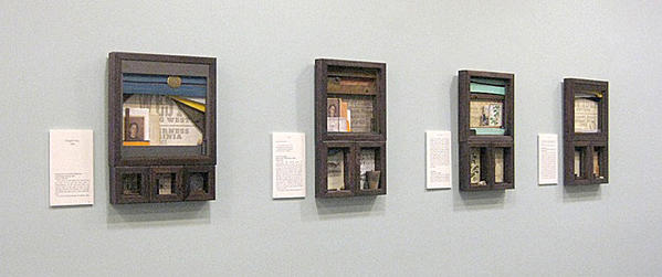 Union: The Courier Journals is a mixed media and journal exhibit by Michael Douglas Jones commemorating the Civil War. The exhibit is on display through Sunday, Feb. 3, at Thurmont (Md.) Regional Library.