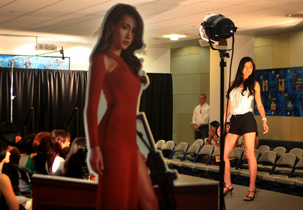 Top Model audition/casting