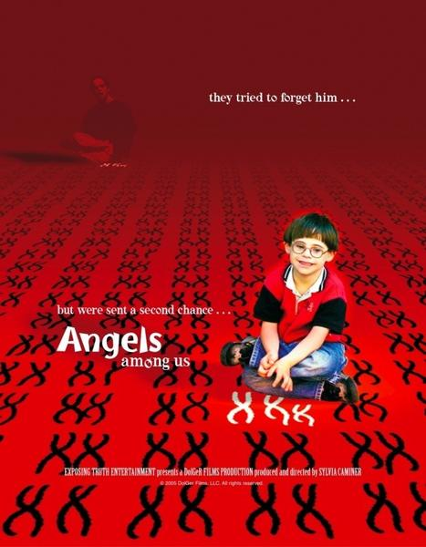 "The poster for ""Angels Among Us."""