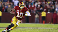Robert Griffin III on the run