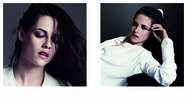"Kristen Stewart, wrapping up her publicity tour for the recent U.S. opening of ""On the Road,"" appears on the cover of the next V Magazine, out Thursday, as well as in an inside 10-page spread. She was shot by famed photo couple Inez and Vinoodh, and found the experience of working with them to be fun. ""When you find yourself with people like that you can really thrive,"" she says in the magazine. ""It was fun. I would follow them where ever they wanted to go. I had a really good time that day, I was kind of shocked by that."" <a href=""http://www.vmagazine.com/"">[V Magazine]</a>"