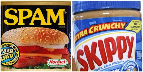 Spam maker Hormel buys Skippy peanut butter.