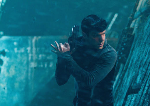 'Star Trek Into Darkness': Spock on QonoS.