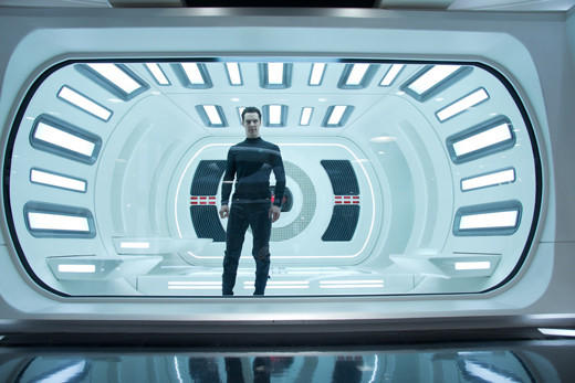 'Star Trek Into Darkness': John Harrison in the USS Enterprise brig.