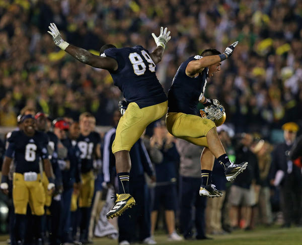 Why Notre Dame will win the BCS national championship game.