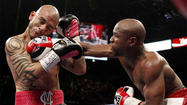 Floyd Mayweather Jr.'s return to the ring May 4 at MGM Grand in Las Vegas remains in negotiation, with Robert Guerrero the most likely opponent and an official announcement expected by the Super Bowl, the man negotiating the bout said.