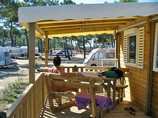 The CHM Montalivet naturist resort, on France's Atlantic coast, offers a variety of accommodations from campsites to bungalows.