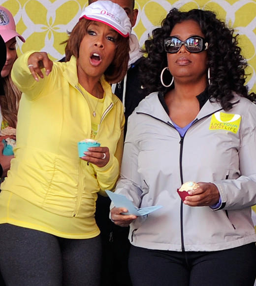 Celebrity BFFs: 10 sets of Hollywood besties: Gayle King and Oprah Winfrey have been BFFs since way back before Oprah was Oprah. Their relationship is so notoriously close, Gayle had to come out as not gay.