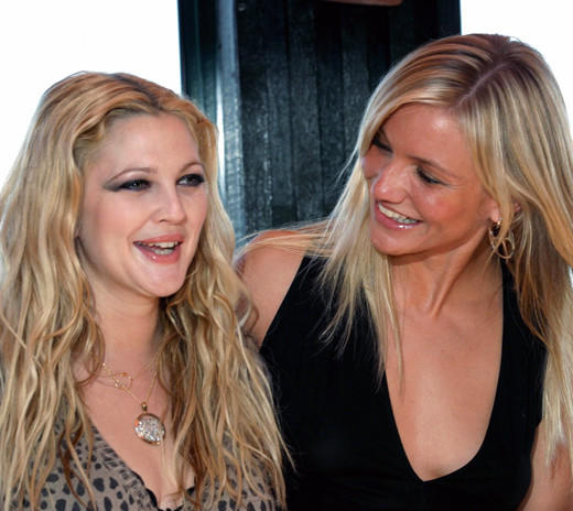 "Drew Barrymore and Cameron Diaz knew each other before starring together in ""Charlie's Angels,"" but that film is what officially glued the girls together at the hip. Cameron calls Drew her ""soul sister,"" and Drew's husband asked Cameron for permission to propose. Sounds like a bond forged in Heaven to us."
