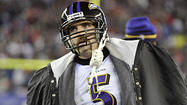 The chaotic final moments of Joe Flacco's impressive duel with New England Patriots quarterback Tom Brady had barely unfolded when expectations for the Ravens quarterback began skyrocketing.