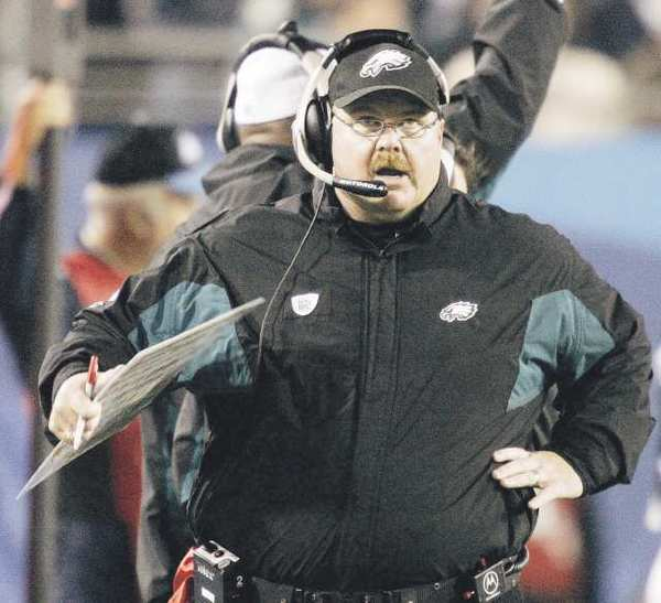 ARCHIVE PHOTO: Former Philadelphia Eagles head coach Andy Reid is considering an offer from the Kansas City Chiefs.