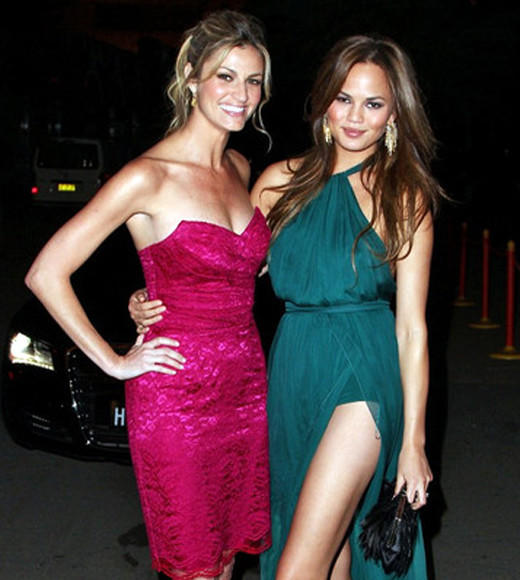Celebrity BFFs: 10 sets of Hollywood besties: They created quite the buzz by posting photos online from their New Years Eve double date, and Erin Andrews and Chrissy Teigen got us feeling sentimental about all the BFFs in Hollywood.   So, without further ado, we bring you a gallery of bonding moments between 10 sets of celebrity besties.   --Zap2it