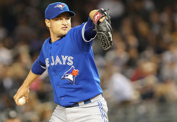 The former Blue Jays reliever agreed to a one-year deal with the Texas Rangers worth a reported $1.5 million.