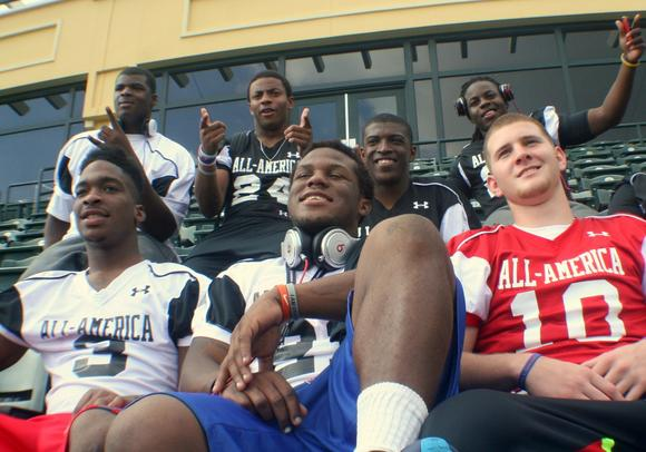 2013 Gators commits at the Under Armour All-American Game