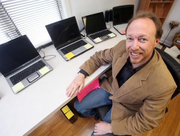 Matt Pfaff, of Computer CPR, located at 409 N. Main Street in Aberdeen.