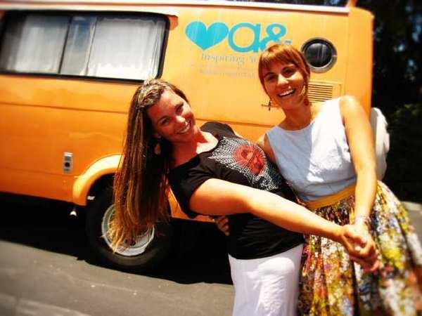 Jennifer Smucker, left, and Shannon Lindsey-Frugis.