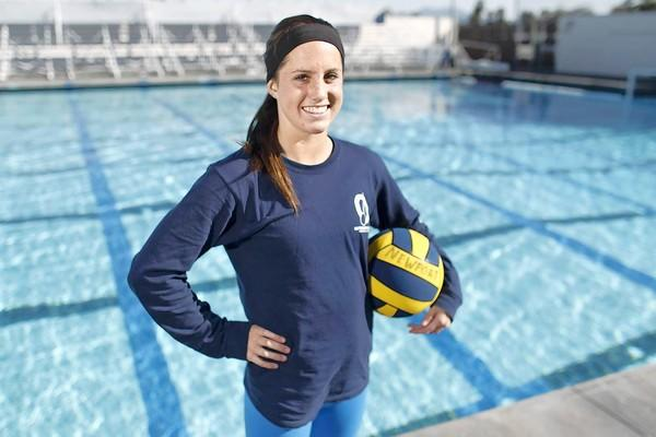 Newport Harbor High senior water polo player Carly Christian is the Daily Pilot High School Athlete of the Week.
